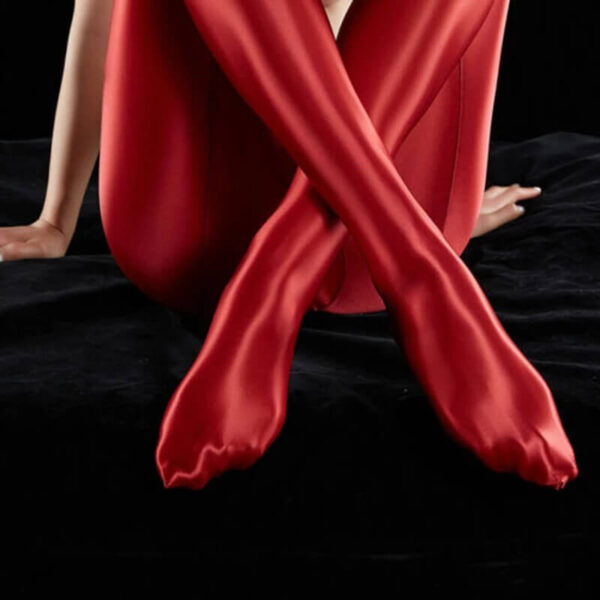 SATIN GLOSSY OPAQUE LEGGINGS
