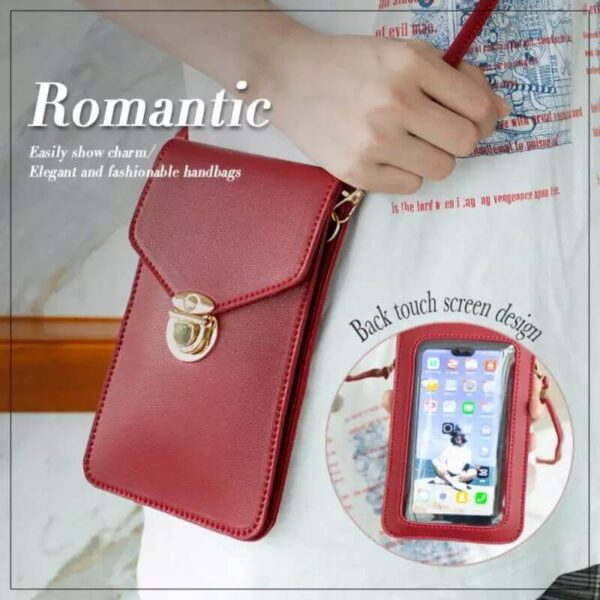 TOUCHABLE PU LEATHER WALLET BAG