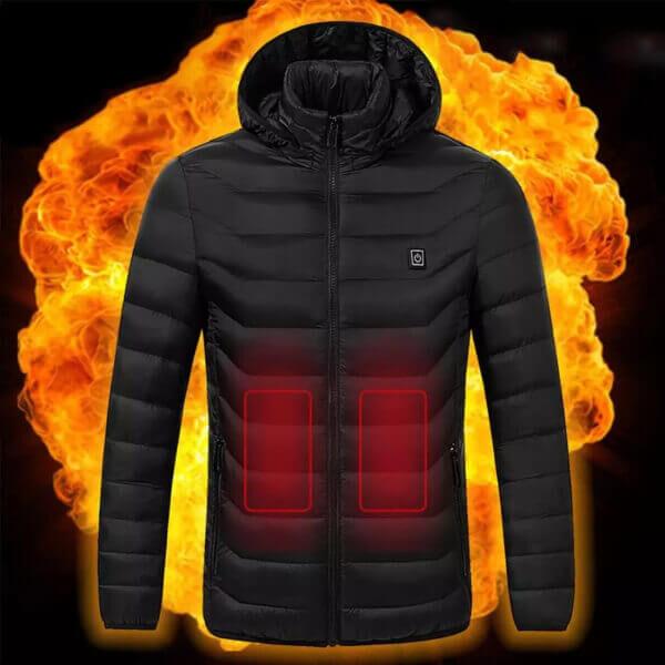 UNISEX WARMING HEATED COAT