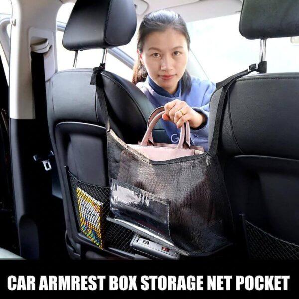 CAR NET HANDBAG POCKET