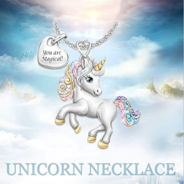 YOU ARE MAGICAL UNICORN NECKLACE