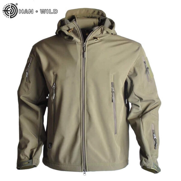 WATERPROOF AND DURABLE MILITARY JACKET