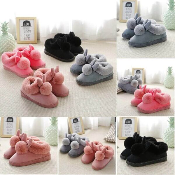 CUTE FLUFFY INDOOR SHOES