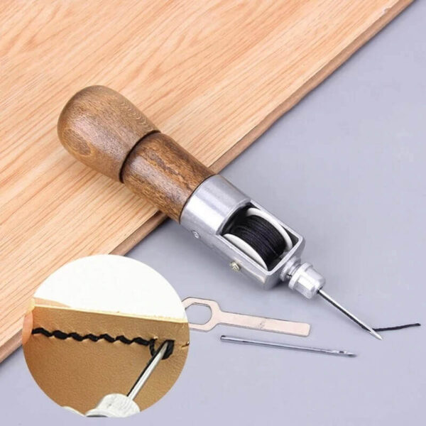 LEATHERCRAFT SEWING STITCHING AWL NEEDLE TOOL