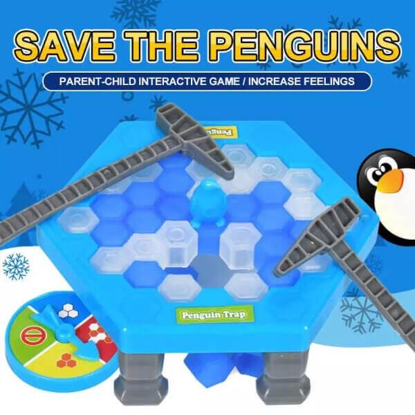 ICE-BLOCK BREAKING GAME