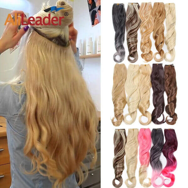 SYNTHETIC GLORY HAIR EXTENSIONS