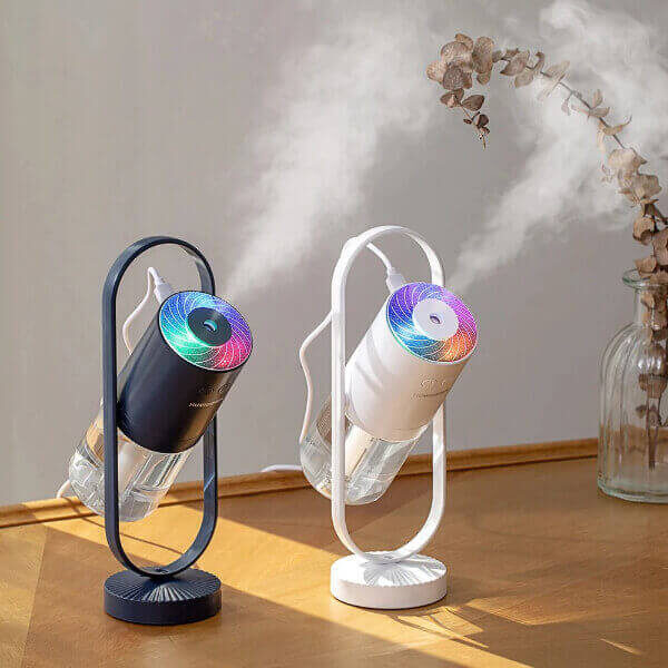 360° MULTI COLOR LIGHTS AIR HUMIDIFIER