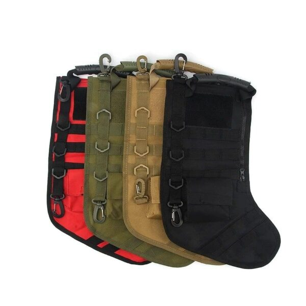 CHRISTMAS TACTICAL BAG STOCKING SOCKS