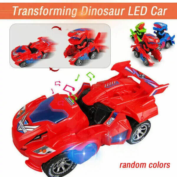 THE TRANSFORMER DINOSAUR LED CAR