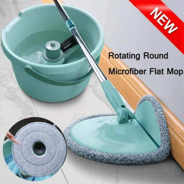 360°ROTATING HEAD EASY MAGIC FLOOR MOP