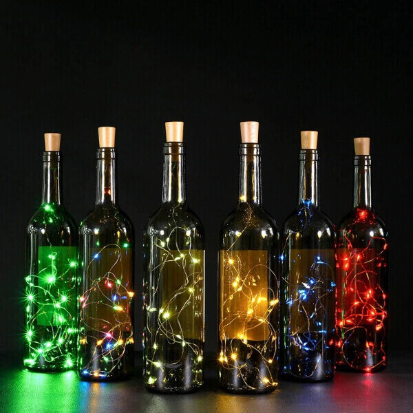CHRISTMAS LED BOTTLE CORK