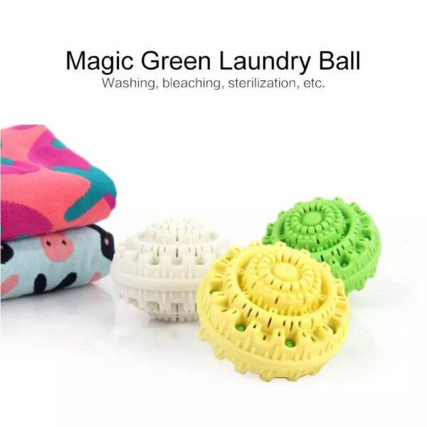 ANTI-WINDING REUSABLE LAUNDRY BALL