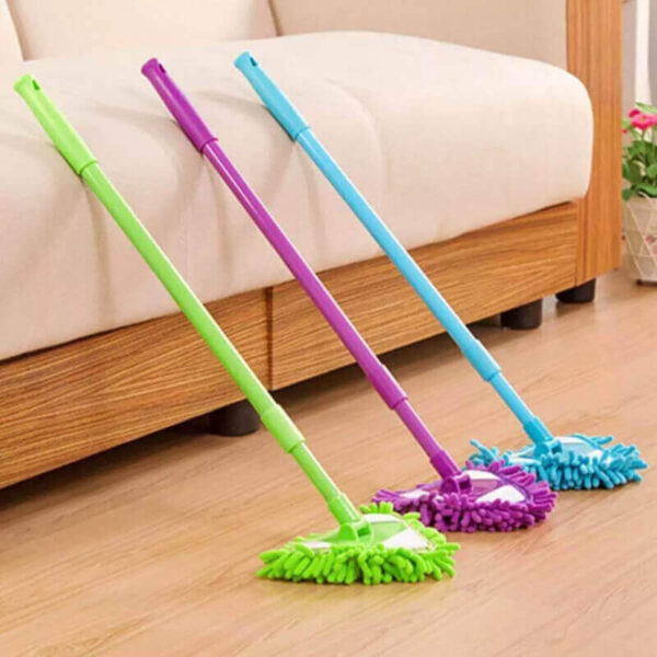 ROTATING TELESCOPIC TRIANGULAR CLEANING MOP