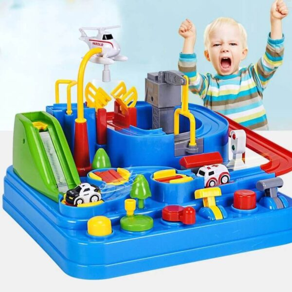 CARS ADVENTURE TRACK PUZZLES GAME TOYS