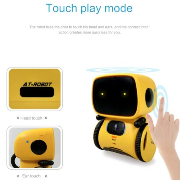 INTERACTIVE ROBOT DANCE VOICE COMMAND TOY