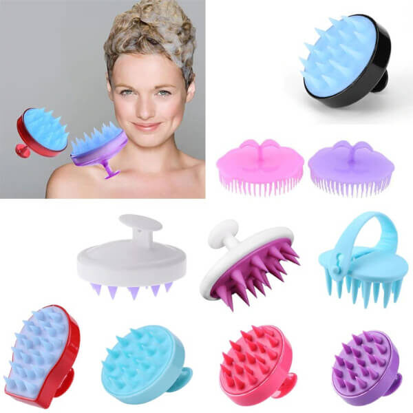 HAIR WASHING SILICONE COMB