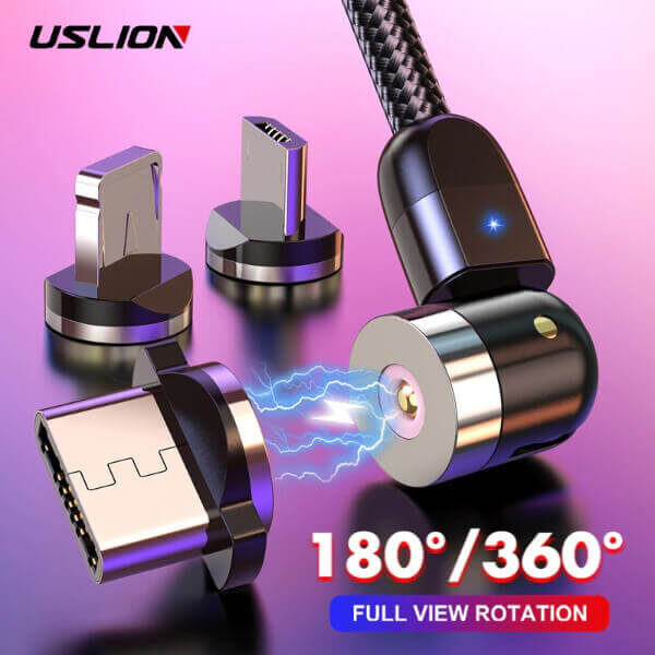 MAGNETIC 360º ROTATION CHARGER