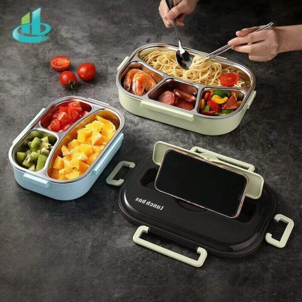 STAINLESS STEEL LEAK-PROOF LUNCH BOX