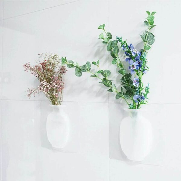 MAGIC SILICONE WALL PLANT VASE