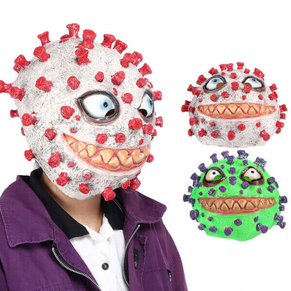 HALLOWEEN HORROR VIRUS FULL HEAD MASK