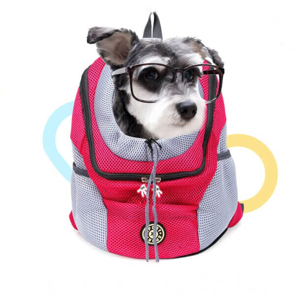 PET ADJUSTABLE HOLE BREATHABLE CARRIER