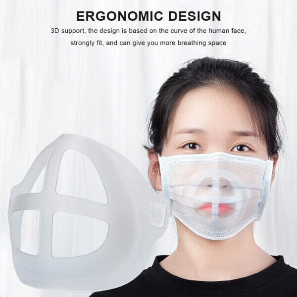 3D MOUTH MASK SUPPORT (5 PCS)