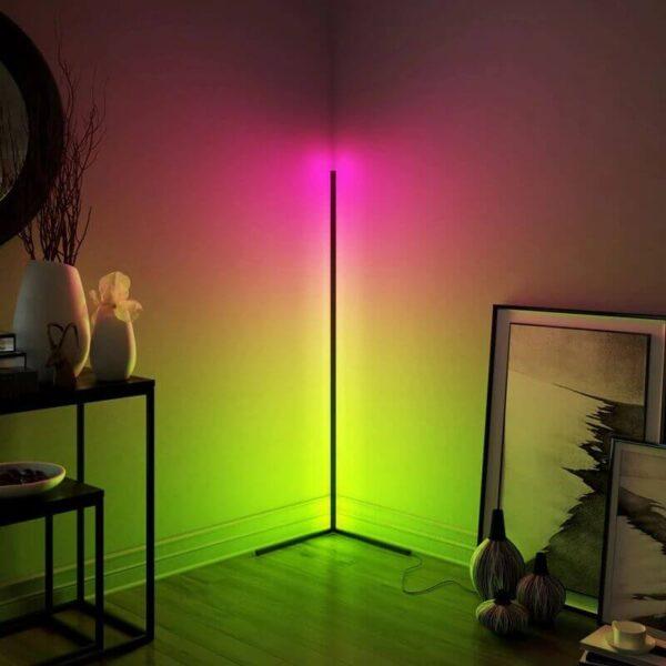 MODERN CORNER FLOOR LAMP
