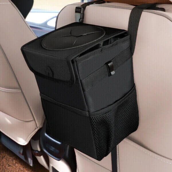 WATERPROOF CAR TRASH CAN BIN