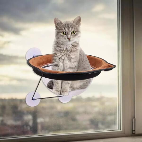 WINDOW MOUNT CAT HAMMOCK