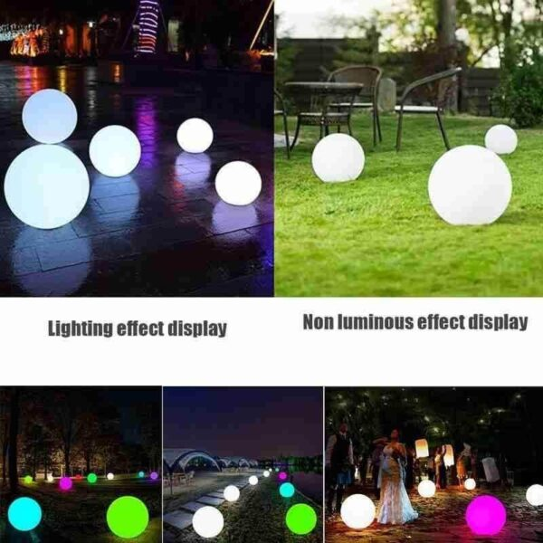 WATERPROOF LED BALLOONS FLOATING LAMPS