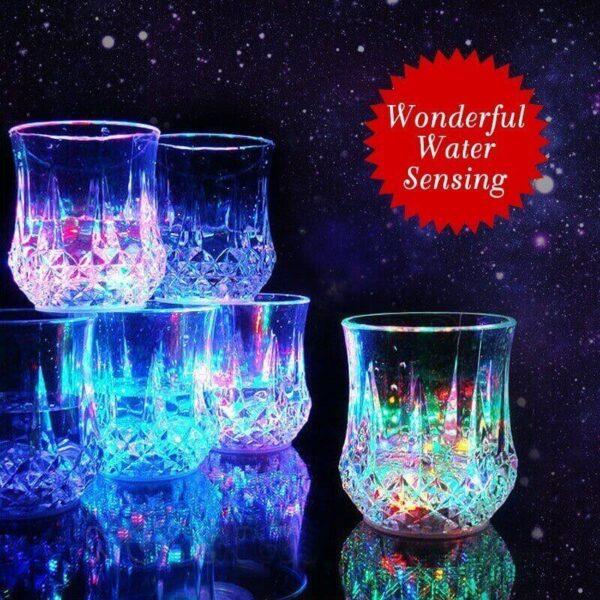 6PCS LED MAGIC WINE GLASS