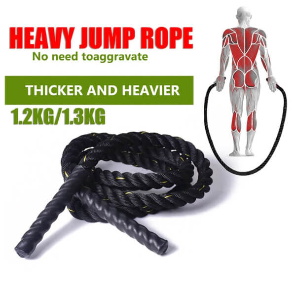 HEAVY WEIGHTED JUMP ROPES