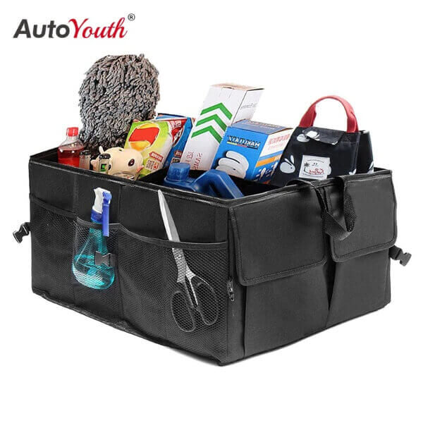 CAR TRUNK ORGANIZER STORAGE BOX