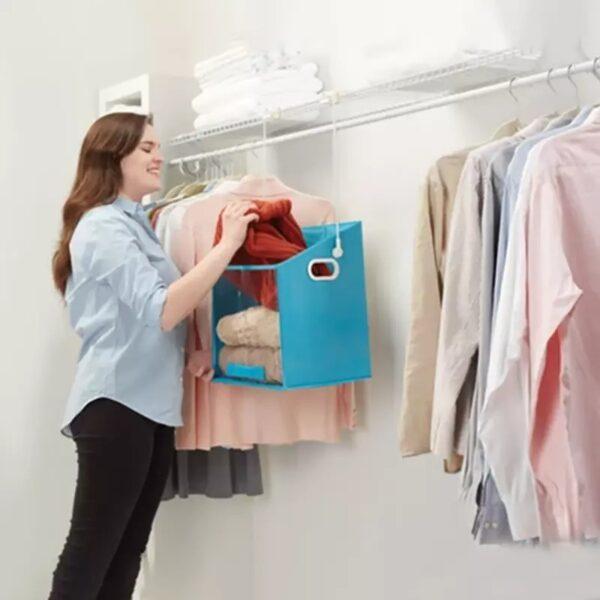 SAFE & EASY CLOTHES ORGANIZER
