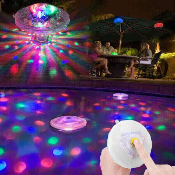LED FLOATING UNDERWATER GLOWING LAMP