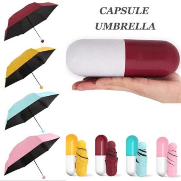 CREATIVE PILL CAPSULE MINI TRAVEL UMBRELLA