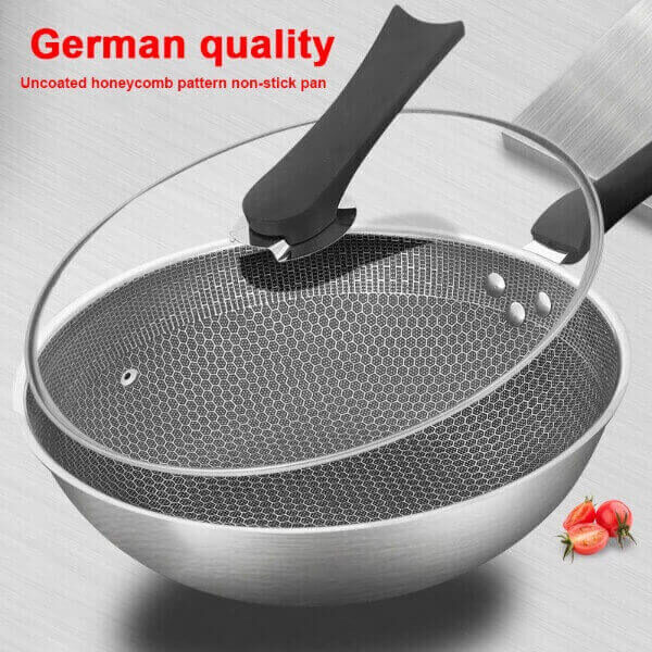 ULTIMATE STAINLESS STEEL NON-STICK IRON PAN