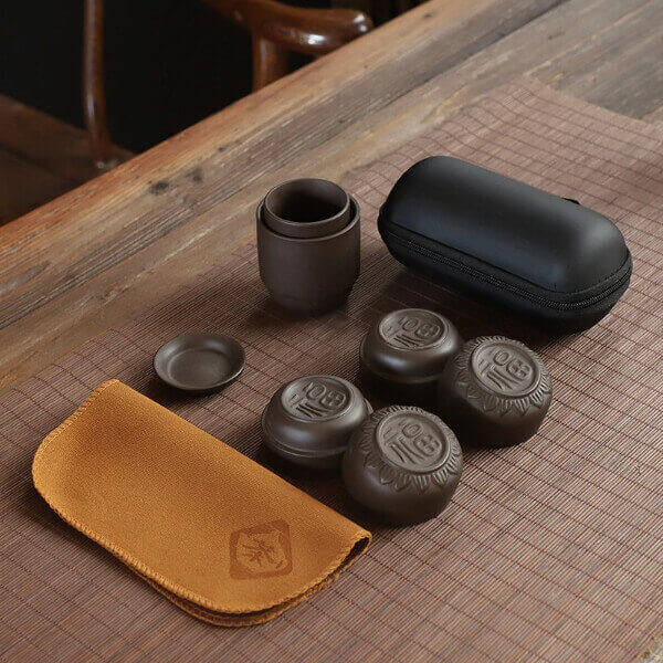 PORTABLE TRAVEL TEA SETS