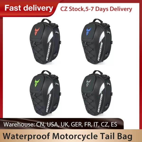 MOTORCYCLE WATERPROOF MULTIFUNCTION TAIL BAG