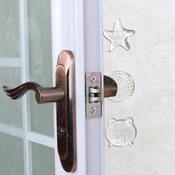 TRANSPARENT DOOR HANDLE PU CRASH PAD