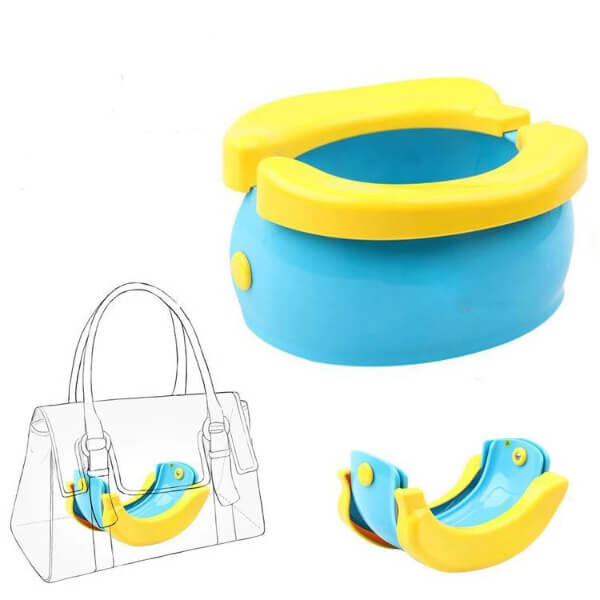 BANANA FOLDING CHILDREN'S TOILET