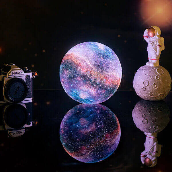 3D PRINT COLORFUL GALAXY LAMP