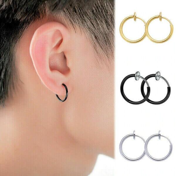 NON-PIERCING RETRACTABLE EARRINGS