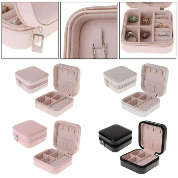 PORTABLE JEWELRY ORGANIZER