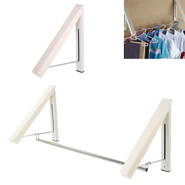 COLLAPSIBLE WALL MOUNTED DRYING RACK