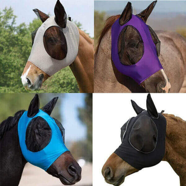 ANTI-FLY MESH EQUINE HORSE MASK