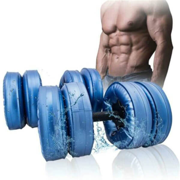 HOME GYM WATER-FILLED DUMBBELL