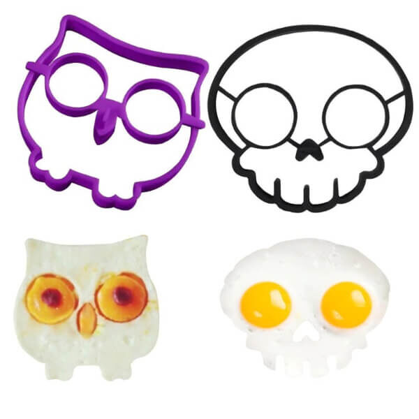 HORROR SKULL FRIED EGG MOLD