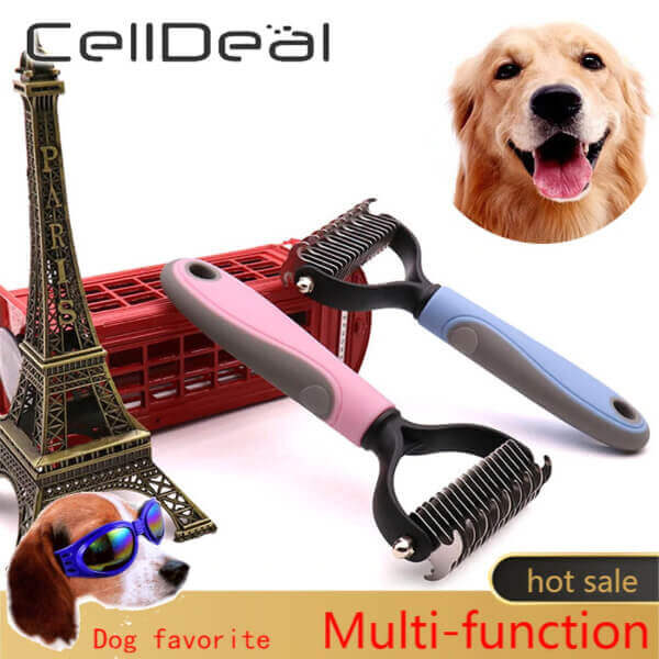 PET HAIR TRIMMING & REMOVAL COMB