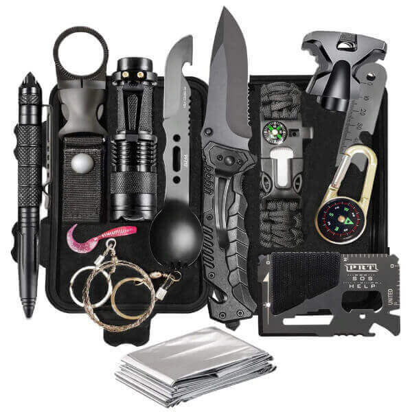 TACTICAL SURVIVAL GEAR FIRST AID KIT